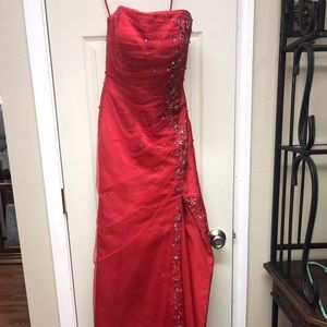 Formal Dress, Red